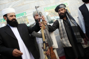 Taliban Fighters Surrender In Herat