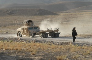 A game of chicken – US and Afghan troops take back road held by Taliban
